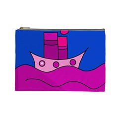 Boat Cosmetic Bag (Large)