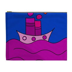Boat Cosmetic Bag (XL)