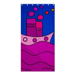 Boat Shower Curtain 36  x 72  (Stall)