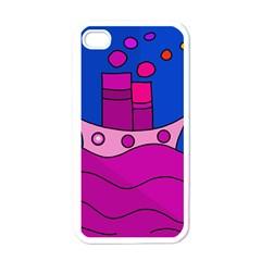 Boat Apple iPhone 4 Case (White)