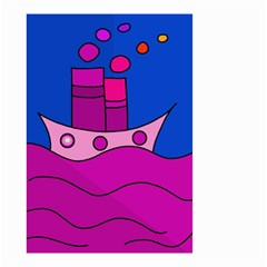 Boat Small Garden Flag (Two Sides)