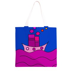 Boat Grocery Light Tote Bag