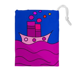 Boat Drawstring Pouches (Extra Large)