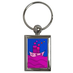 Boat Key Chains (Rectangle)