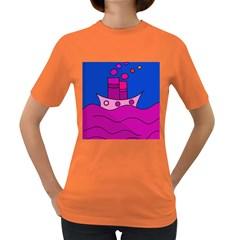 Boat Women s Dark T-Shirt