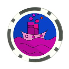 Boat Poker Chip Card Guards