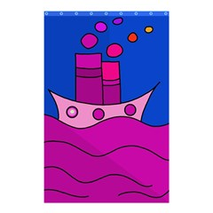 Boat Shower Curtain 48  x 72  (Small)