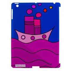 Boat Apple iPad 3/4 Hardshell Case (Compatible with Smart Cover)