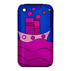 Boat Apple iPhone 3G/3GS Hardshell Case (PC+Silicone)