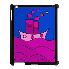 Boat Apple iPad 3/4 Case (Black)