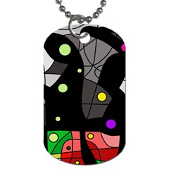 Optimistic decor Dog Tag (One Side)