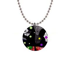 Optimistic decor Button Necklaces