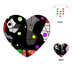Optimistic decor Playing Cards (Heart)