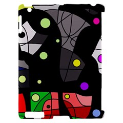Optimistic decor Apple iPad 2 Hardshell Case (Compatible with Smart Cover)