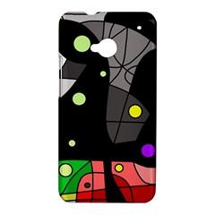 Optimistic decor HTC One M7 Hardshell Case