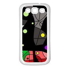 Optimistic decor Samsung Galaxy S3 Back Case (White)