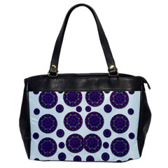 Shimmering Floral Abstracte Office Handbags