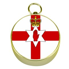 Ulster Banner Gold Compasses