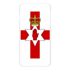 Ulster Banner Apple Seamless iPhone 6 Plus/6S Plus Case (Transparent)