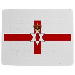 Ulster Banner Jigsaw Puzzle Photo Stand (Rectangular)