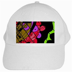 Elegant abstract decor White Cap