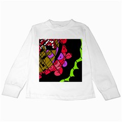 Elegant abstract decor Kids Long Sleeve T-Shirts
