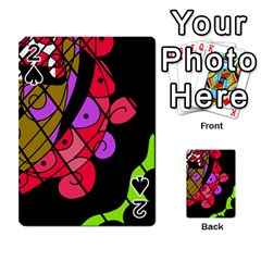 Elegant abstract decor Playing Cards 54 Designs