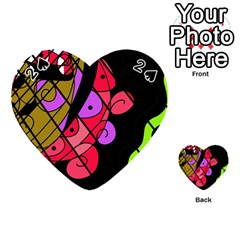 Elegant abstract decor Playing Cards 54 (Heart)
