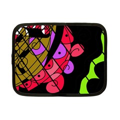 Elegant abstract decor Netbook Case (Small)