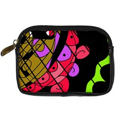Elegant abstract decor Digital Camera Cases