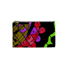 Elegant abstract decor Cosmetic Bag (Small)