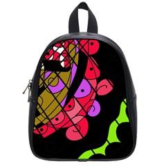 Elegant abstract decor School Bags (Small)