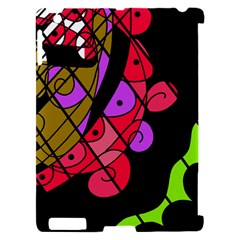 Elegant abstract decor Apple iPad 2 Hardshell Case (Compatible with Smart Cover)