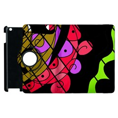 Elegant abstract decor Apple iPad 2 Flip 360 Case