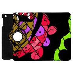 Elegant abstract decor Apple iPad Mini Flip 360 Case
