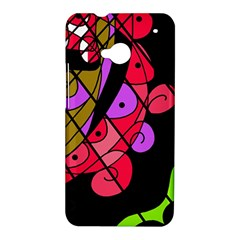 Elegant abstract decor HTC One M7 Hardshell Case