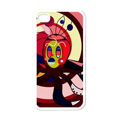 Octopus Apple iPhone 4 Case (White)