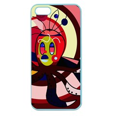 Octopus Apple Seamless iPhone 5 Case (Color)