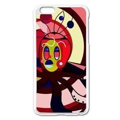 Octopus Apple iPhone 6 Plus/6S Plus Enamel White Case