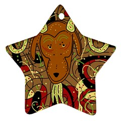 Billy goat Ornament (Star)