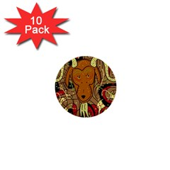 Billy goat 1  Mini Buttons (10 pack)