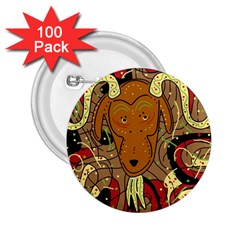 Billy goat 2.25  Buttons (100 pack)