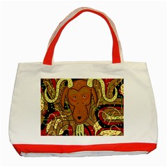 Billy goat Classic Tote Bag (Red)