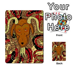 Billy goat Multi-purpose Cards (Rectangle)