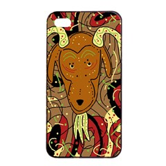 Billy goat Apple iPhone 4/4s Seamless Case (Black)