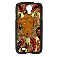 Billy goat Samsung Galaxy S4 I9500/ I9505 Case (Black)