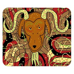Billy goat Double Sided Flano Blanket (Small)