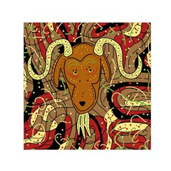 Billy goat Small Satin Scarf (Square)
