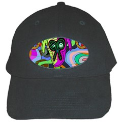 Colorful goat Black Cap