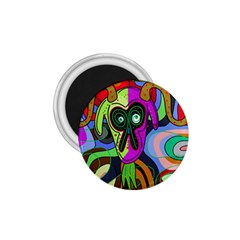 Colorful goat 1.75  Magnets